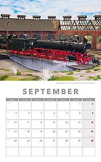 Modelleisenbahnen Kalender 2018 + 2 Blechschilder - Produktdetailbild 6