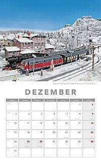 Modelleisenbahnen Kalender 2018 + 2 Blechschilder - Produktdetailbild 8