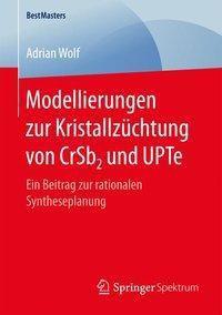 Modellierungen zur Kristallzüchtung von CrSb2 und UPTe, Adrian Wolf