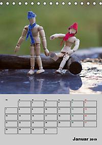 Modellpuppen wie Du und Ich (Tischkalender 2019 DIN A5 hoch) - Produktdetailbild 1