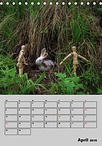Modellpuppen wie Du und Ich (Tischkalender 2019 DIN A5 hoch) - Produktdetailbild 4