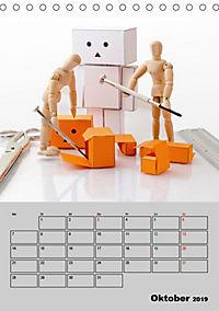 Modellpuppen wie Du und Ich (Tischkalender 2019 DIN A5 hoch) - Produktdetailbild 10
