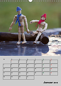 Modellpuppen wie Du und Ich (Wandkalender 2019 DIN A3 hoch) - Produktdetailbild 1
