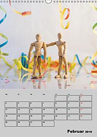 Modellpuppen wie Du und Ich (Wandkalender 2019 DIN A3 hoch) - Produktdetailbild 2