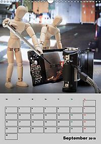 Modellpuppen wie Du und Ich (Wandkalender 2019 DIN A3 hoch) - Produktdetailbild 9