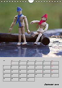 Modellpuppen wie Du und Ich (Wandkalender 2019 DIN A4 hoch) - Produktdetailbild 1