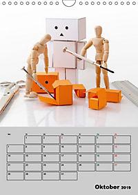 Modellpuppen wie Du und Ich (Wandkalender 2019 DIN A4 hoch) - Produktdetailbild 10