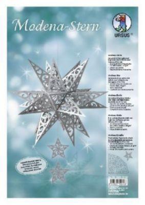 Modena-Stern Grace (20 Sternspitzen, silber), URSUS®