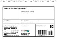 Modern Art. Architektur-Impressionen (Tischkalender 2019 DIN A5 quer) - Produktdetailbild 1