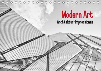 Modern Art. Architektur-Impressionen (Tischkalender 2019 DIN A5 quer), Elisabeth Stanzer