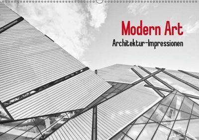 Modern Art. Architektur-Impressionen (Wandkalender 2019 DIN A2 quer), Elisabeth Stanzer