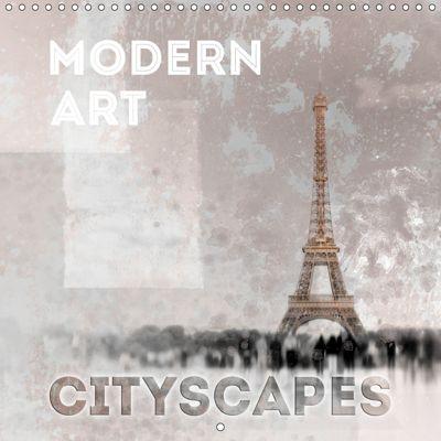 Modern Art Cityscapes (Wall Calendar 2019 300 × 300 mm Square), Melanie Viola
