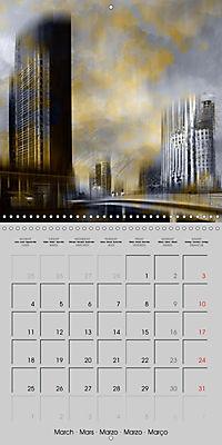 Modern Art Cityscapes (Wall Calendar 2019 300 × 300 mm Square) - Produktdetailbild 3