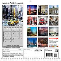Modern Art Cityscapes (Wall Calendar 2019 300 × 300 mm Square) - Produktdetailbild 13