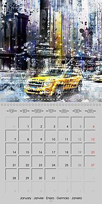 Modern Art Cityscapes (Wall Calendar 2019 300 × 300 mm Square) - Produktdetailbild 1