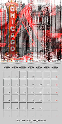 Modern Art Cityscapes (Wall Calendar 2019 300 × 300 mm Square) - Produktdetailbild 5