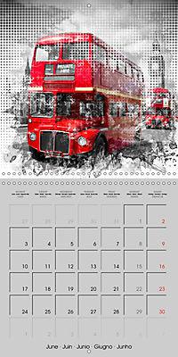Modern Art Cityscapes (Wall Calendar 2019 300 × 300 mm Square) - Produktdetailbild 6