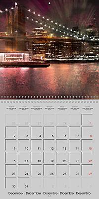 Modern Art Cityscapes (Wall Calendar 2019 300 × 300 mm Square) - Produktdetailbild 12