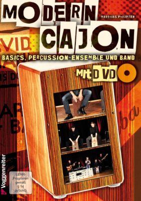 Modern Cajon, m. DVD, Matthias Philipzen