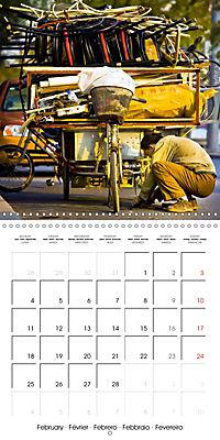 Modern pack mules: Curious transporters (Wall Calendar 2019 300 × 300 mm Square) - Produktdetailbild 2
