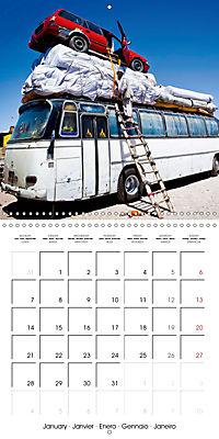 Modern pack mules: Curious transporters (Wall Calendar 2019 300 × 300 mm Square) - Produktdetailbild 1
