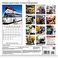 Modern pack mules: Curious transporters (Wall Calendar 2019 300 × 300 mm Square) - Produktdetailbild 13