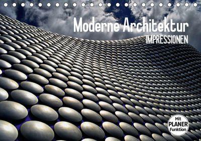Moderne Architektur. Impressionen (Tischkalender 2019 DIN A5 quer), Elisabeth Stanzer