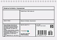 Moderne Architektur. Impressionen (Tischkalender 2019 DIN A5 quer) - Produktdetailbild 13
