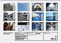 Moderne Architektur. Impressionen (Wandkalender 2019 DIN A2 quer) - Produktdetailbild 13