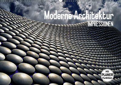 Moderne Architektur. Impressionen (Wandkalender 2019 DIN A2 quer), Elisabeth Stanzer