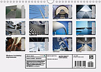 Moderne Architektur. Impressionen (Wandkalender 2019 DIN A4 quer) - Produktdetailbild 13