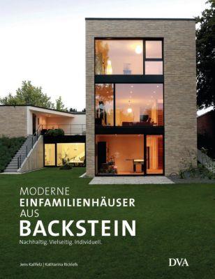 Moderne Einfamilienhäuser aus Backstein