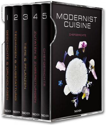 Modernist Cuisine, 5 Bde., m. Rezepthandbuch, Nathan Myhrvold, Chris Young, Maxime Bilet
