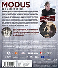 Modus - Der Mörder in uns - Staffel 1 - 2 Disc Bluray - Produktdetailbild 1