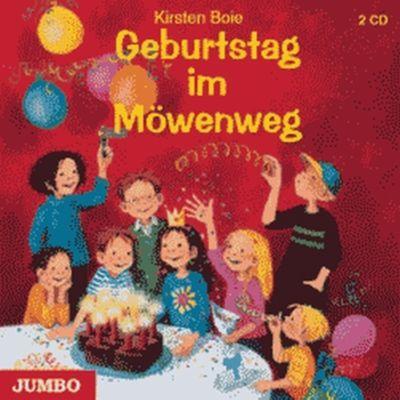 Möwenweg Band 3: Geburtstag im Möwenweg (Audio-CD), Kirsten Boie