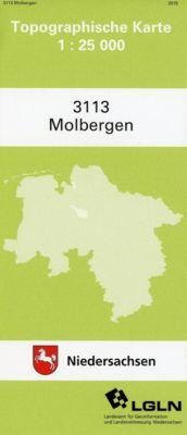 Molbergen 1 : 25 000. (TK 3113/N)