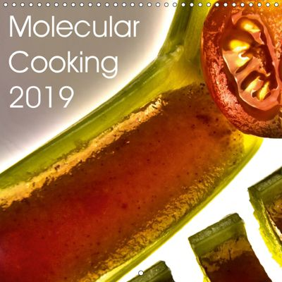 Molecular Cooking 2019 (Wall Calendar 2019 300 × 300 mm Square), Marc Heiligenstein