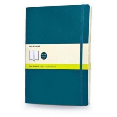 Moleskine Notizbuch, Extra Large, blanko, soft cover, unterwasser-blau