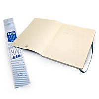 Moleskine Notizbuch, Extra Large, blanko, soft cover, unterwasser-blau - Produktdetailbild 4