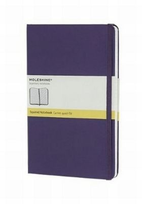 moleskine notizbuch large a5 kariert violett buch. Black Bedroom Furniture Sets. Home Design Ideas