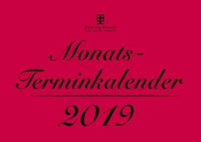 Monatsterminkalender 2019