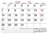 Monatsterminkalender 2019 - Produktdetailbild 1