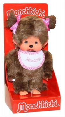 Monchhichi Classic Girl pink, ca. 20cm