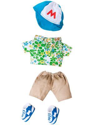 Monchhichi Kleidungs-Set (Design: Hawaiihemd & Mütze Junge)