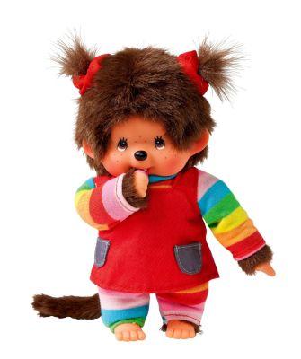 Monchhichi Mädchen Rainbow, 20 cm