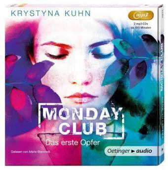 Monday Club - Das erste Opfer, 2 MP3-CDs, Krystyna Kuhn