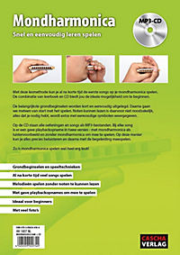 Mondharmonica - Snel en eenvoudig leren spelen, m. MP3-CD - Produktdetailbild 1