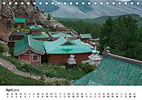 Mongolei entdecken - Landschaften und Klöster (Tischkalender 2019 DIN A5 quer) - Produktdetailbild 4