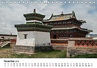 Mongolei entdecken - Landschaften und Klöster (Tischkalender 2019 DIN A5 quer) - Produktdetailbild 11