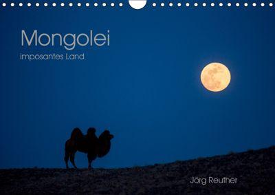 Mongolei - imposantes Land (Wandkalender 2019 DIN A4 quer), Jörg Reuther